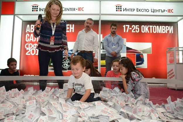 Изтеглиха победителите в наградите на Автосалон София 2015