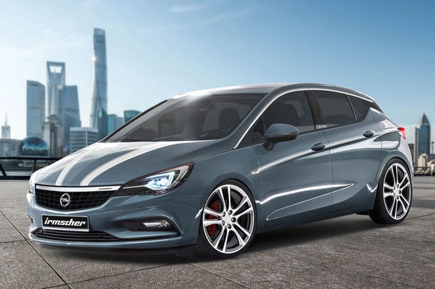 Irmscher Opel Astra: Новата тунингована светкавица