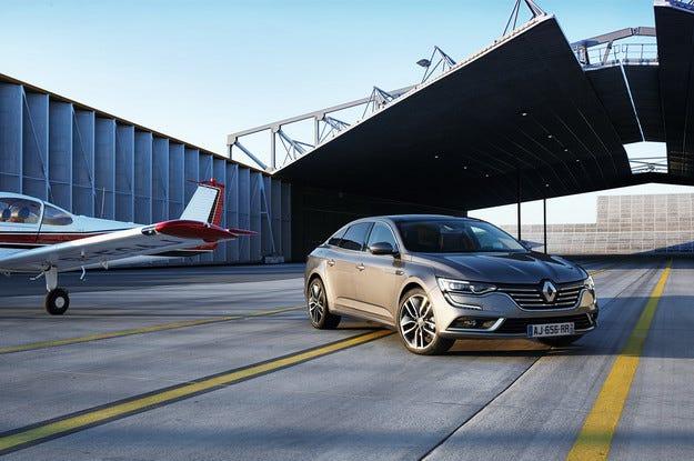 Новият Renault Talisman - един от най-бързите в класа