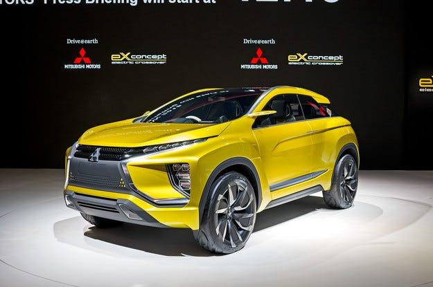 Кросоувърът Mitsubishi eX създава нов пазарен сегмент