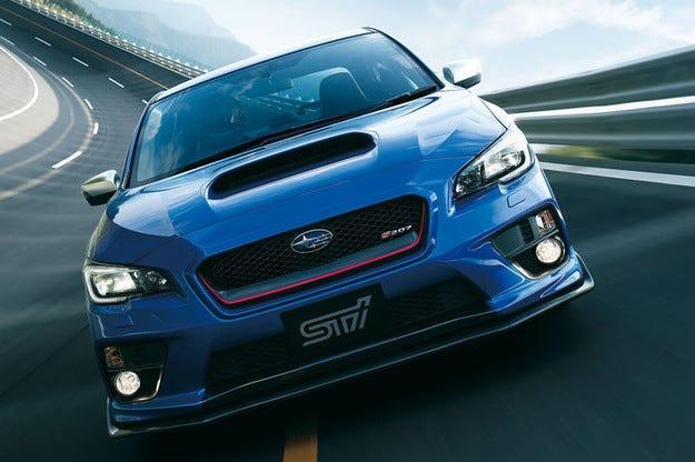 Дебютира Subaru WRX STI S207 на салона в Токио