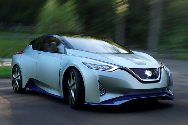 Концептът Nissan IDS е с чисто електрическо задвижване