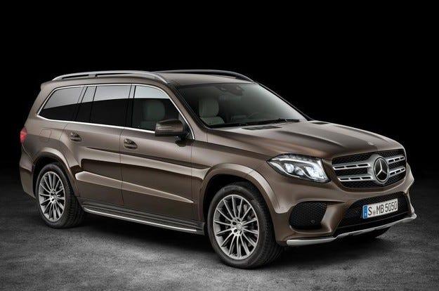 Разкриха Mercedes-Benz GLS 2016 – нови снимки и детайли