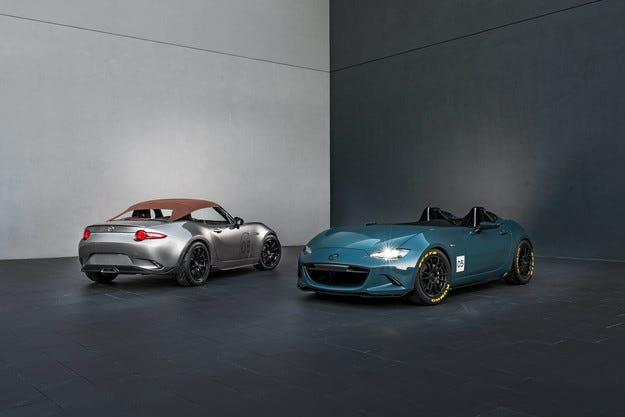Роудстърът Mazda MX-5 получи версии Spyder и Speedster