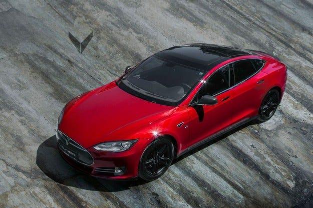 Tesla Model S by Vilner: В хармония с чистотата