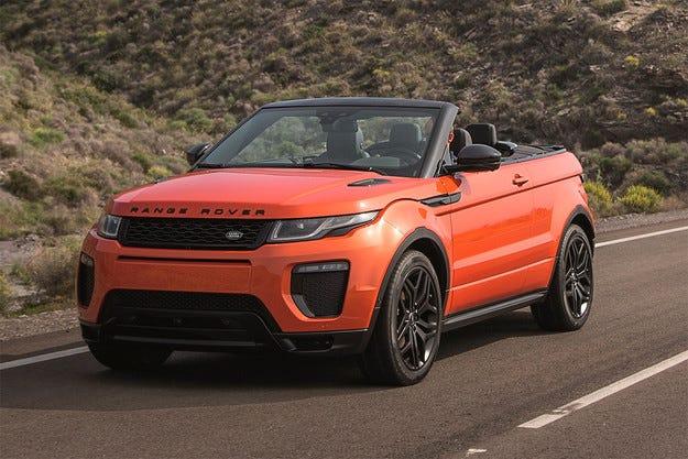 Land Rover представи кабриолета Range Rover Evoque