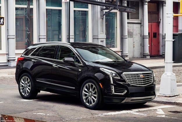 Компанията Cadillac представи новия кросоувър XT5
