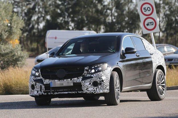 Mercedes GLC Coupé: Кросоувърът купе атакува от 2016