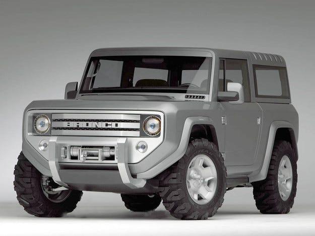 Компанията Ford планира да възроди кросоувъра Bronco