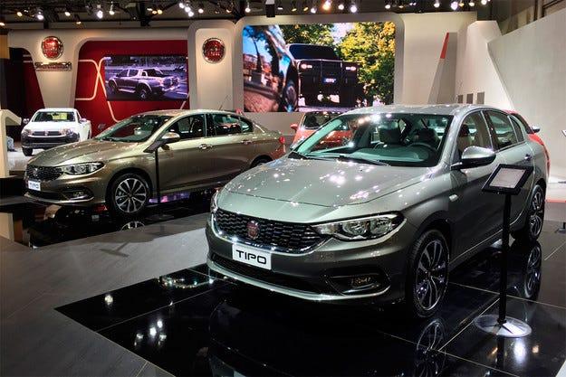 Италианската компания Fiat представи новия седан Tipo