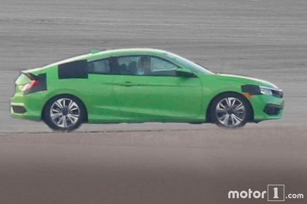 Honda провежда последни тестове на новото купе Civic