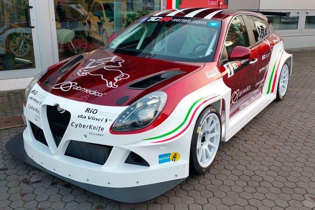Alfa Romeo Giulietta получава състезателна версия