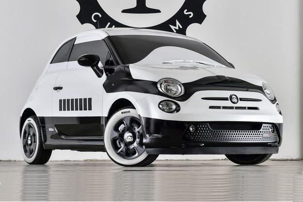 Хечбекът Fiat 500 е готов за Междузвездни войни