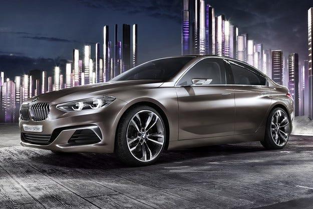 Компанията BMW показа предвестника на седана Серия 1