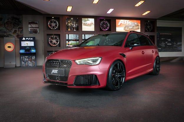 Abt Audi RS3 450 Individual RS3 изцежда 450 к.с.