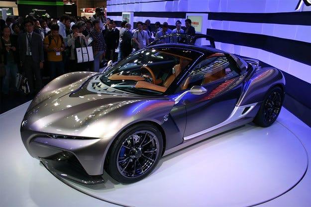 Yamaha  разработва ултралек спортен автомобил