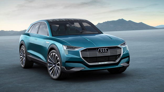 Audi иска съвместно използване на зарядни станции