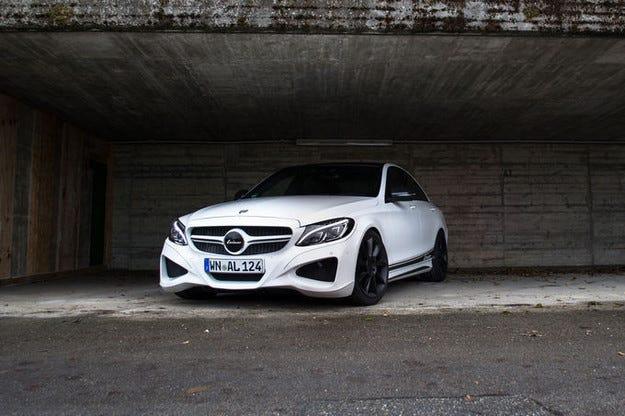 Lorinser C50 в Есен: Повече мощност за Mercedes C 450 AMG