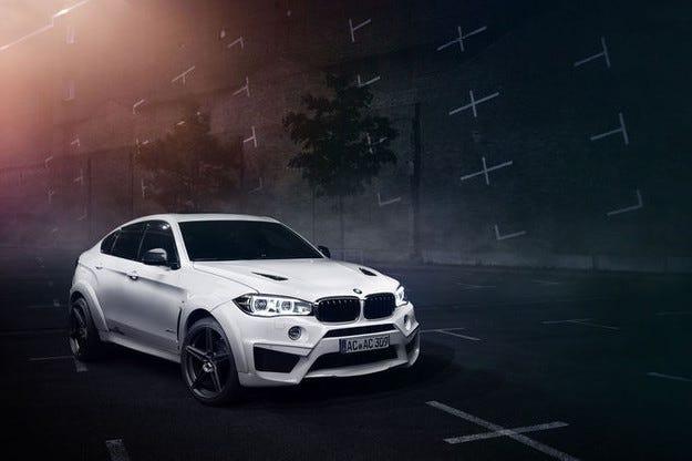 AC Schnitzer BMW X6 Falcon: 650 к.с. за SUV-Coupé