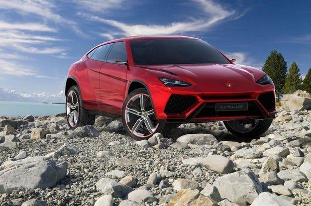 Шефът на Lamborghini разказа за първия кросоувър