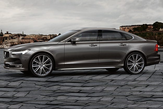 Разсекретиха седана Volvo S90 часове преди премиерата