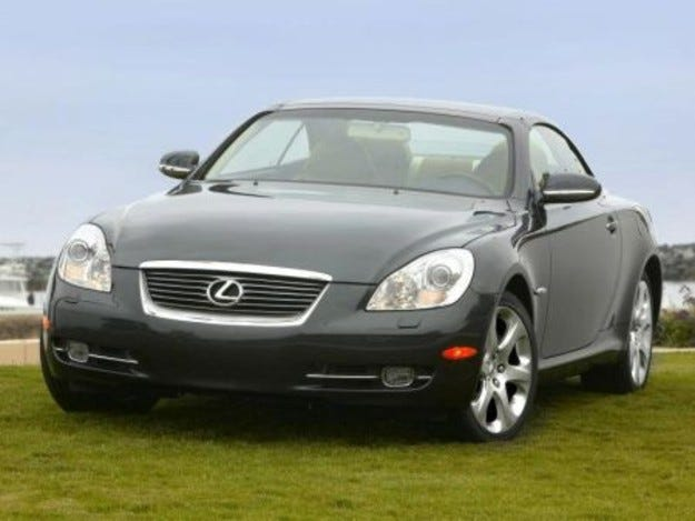 Lexus SC Pebble Beach