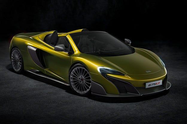 McLaren показа открита версия на най-мощния си модел