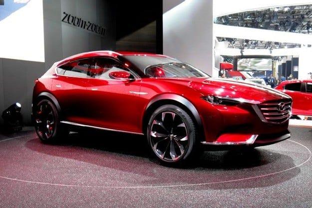 Концептуалният Mazda Koeru ще получи серийна версия
