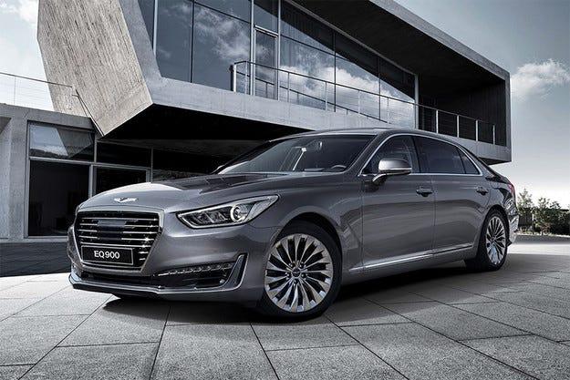 Hyundai представи флагманския седан Genesis G90