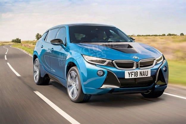 Бъдещият BMW i5 ще бъде електрически кросоувър