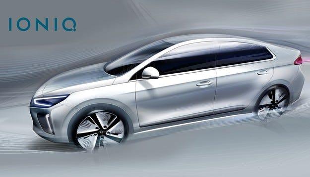 Водеща аеродинамика и впечатляващ дизайн за IONIQ