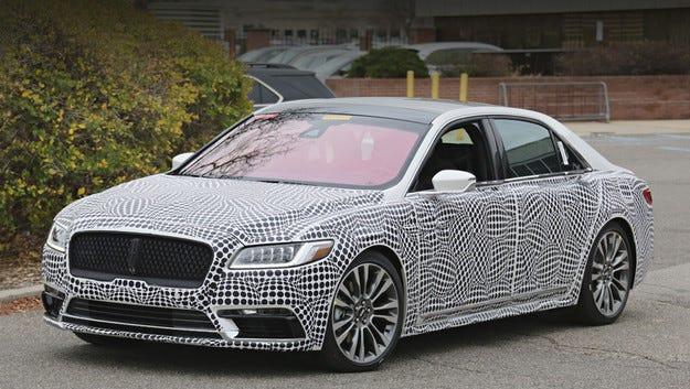 Серийният Lincoln Continental ще се появи в Детройт