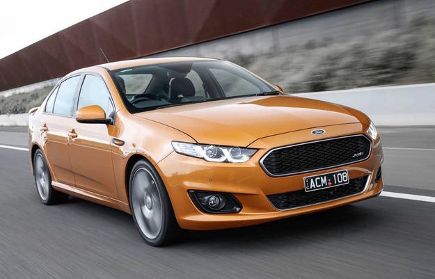 Falcon Sprint ще украси края на Ford в Австралия