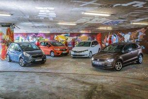 Honda Jazz, Kia Venga, Skoda Fabia Combi, VW Polo