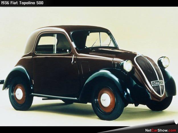 Fiat възнамерява да възроди модела Topolino