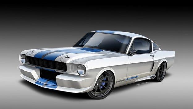 Реплики на Shelby Mustang с по-малки турбо двигатели