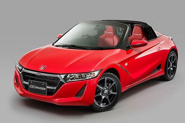 На салона в Токио пет модела на Honda от Mugen