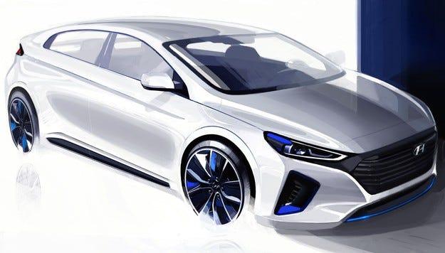 Hyundai Motor разкри интериора и екстериора на новия IONIQ