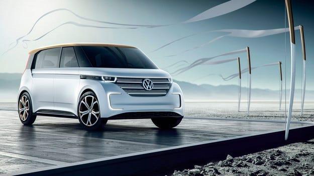 Volkswagen разкри нов концепт на минивана Budd-e