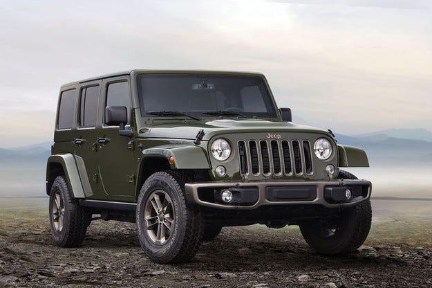 Американската компания Jeep празнува 75 години
