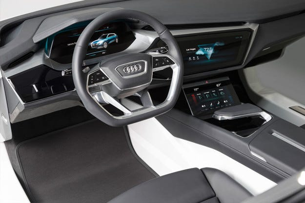 Audi показа салона на бъдещето на изложението в Лас Вегас