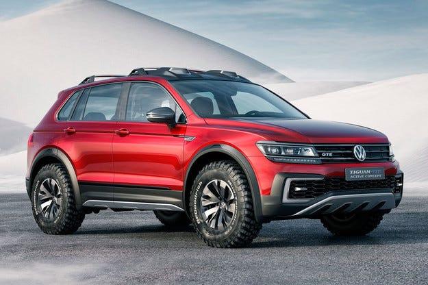 Volkswagen разкри хибриден концепт Tiguan GTE Active