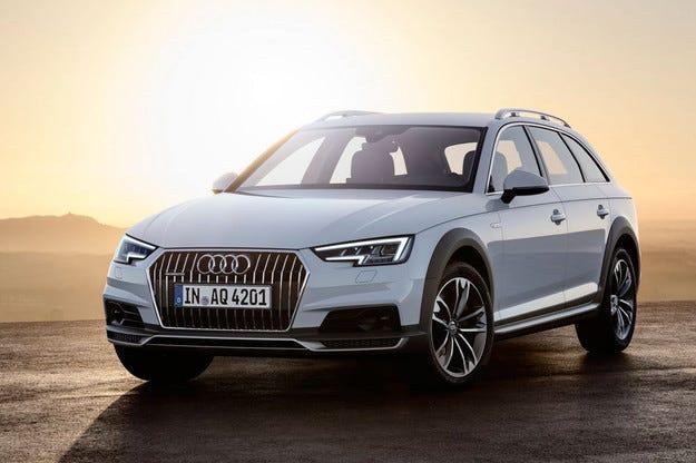 Немската компания Audi представи новото A4 Allroad