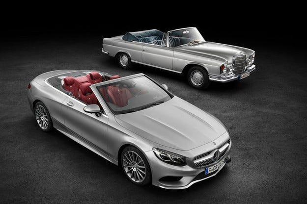 Mercedes S-класа кабриолет: Цялата информация