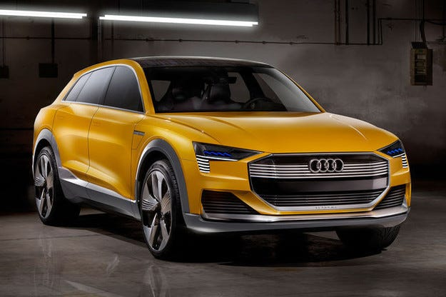 Audi H-Tron Quattro: Ток от кухнята на борда