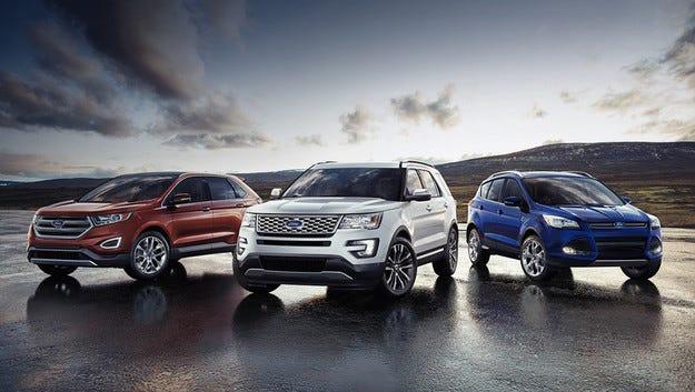 От Ford обявиха пускането на четири нови кросоувъра