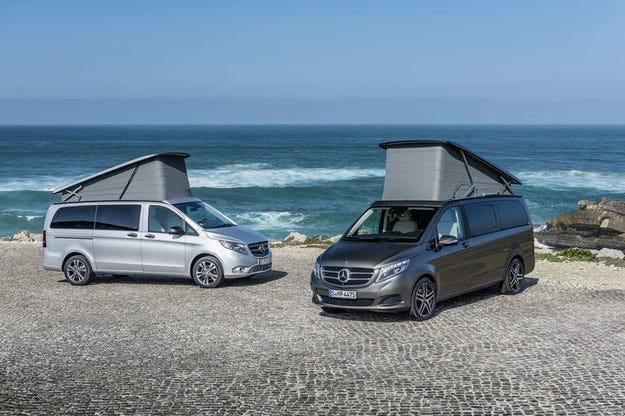 Mercedes V-класа Marco Polo AMG Line: Спортено шикозен ван