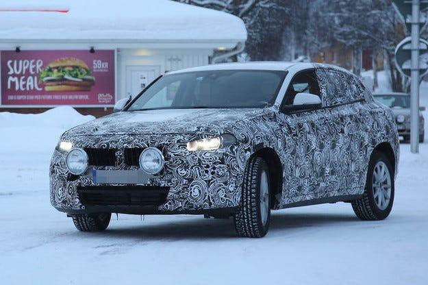 Новото BMW X2: Малкият SUV Coupé стартира през 2017