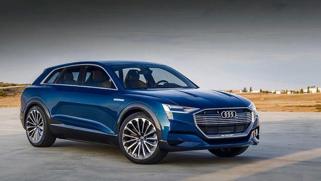 Електрическият Audi Q6 ще се появи на пазара през 2018 г.
