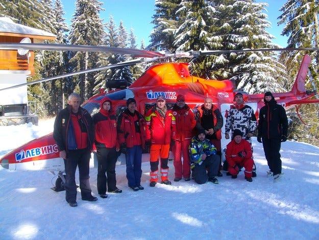 Набелязаха от въздуха опасните ски терени в Пампорово